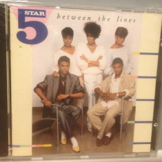 FIVE STAR - BETWEEN THE LINES (1987/BMG REC/ GERMANY) - CD NOU/Sigilat/Original - Muzica Pop rca records