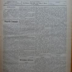 Ziarul Munca , organ social-democrat ,an 1 ,nr. 33 ,1890 , I. Nadejde , C. Mille