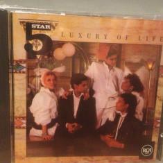 FIVE STAR - LUXURY OF LIFE (1985/RCA REC/ GERMANY) - CD NOU/Sigilat/Original - Muzica Pop rca records