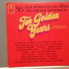 36 GREAT ORIGINAL SOUNTRACKS -2LP SET (1962/UNITED ARTISTS/USA) - disc VINIL/RAR - Muzica soundtrack warner