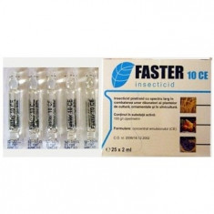 Insecticid de contact Faster 10 CE 100 ml