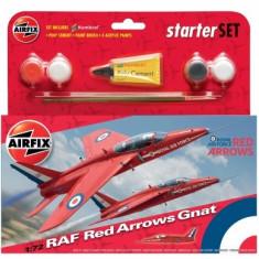 Kit Constructie Avion Raf Red Arrows Gnat - Set de constructie Airfix