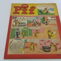 VAILLANT*LE JOURNAL DE PIF*NR. 1220*1968/ REVISTĂ BENZI DESENATE