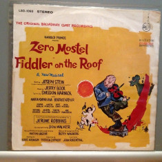 Zero Mostel in FIDDLER ON HE ROOF - MUSICAL (1960/RCA/USA) - VINIL/Analog/Vinyl - Muzica soundtrack rca records