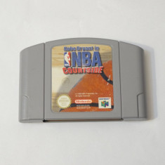 Joc consola Nintendo 64 N64  - NBA Courtside, Actiune, Toate varstele, Single player