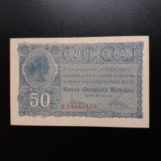 Bancnote romanesti 50bani bgr unc - Bancnota romaneasca