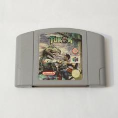 Joc consola Nintendo 64 N64  - Turok, Actiune, Toate varstele, Single player