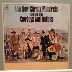 The New Christy Ministrels sing and play Cowboys &...(1960/CBS/USA) - disc VINIL - Muzica Country Columbia