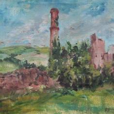 Tablou - ulei pe panza – semnat Grigorescu L, Peisaje, Impresionism