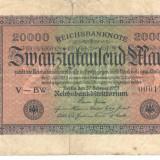 Germania 20000 marci 1923