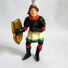 Figurina plastic, marca Hartung, cavaler print, 9cm