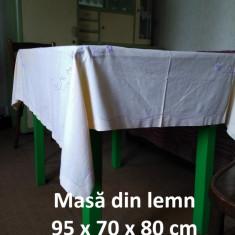 Masă lemn masiv - Masa bucatarie