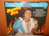-Y- PEREZ PRADO AND HIS ORCHESTRA - MAMBO FIRE    DISC VINIL LP