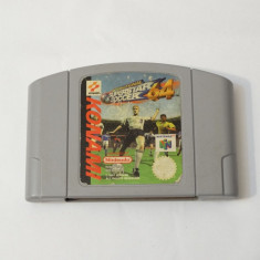 Joc consola Nintendo 64 N64 - International Superstar Soccer 64 Altele, Actiune, Toate varstele, Single player