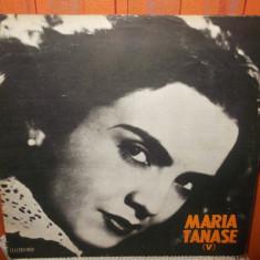 -Y-   MARIA TANASE  V     - DISC VINIL LP