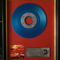 Gold Record Single Vinil Modern Talking - Muzica Pop