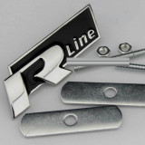 Accesoriu metal auto pt grila rline R line  metalica kit prindere inclus, Bmw