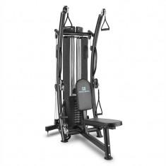 CAPITAL SPORTS PUISSANTOR B15, negru, dispozitiv multifuncțional pentru antrenament acasă, 150 LB, oțel - Aparat multifunctionale fitness