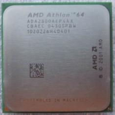 Procesor AMD Athlon 64 2800+ (rev. CG, AX) socket 754 ADA2800AEP4AX - Procesor PC AMD, Numar nuclee: 1, 1.0GHz - 1.9GHz