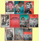 10 afise Romaniafilm era comunista (lot 3), cinema Epoca de Aur anii '80