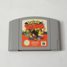 Joc consola Nintendo 64 N64  - Pokemon Snap, Actiune, Toate varstele, Single player