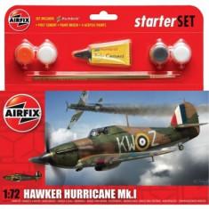Kit Constructie Avion Hawker Hurricane Mkl - Set de constructie Airfix