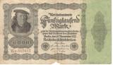 Germania 50000 marci 1922