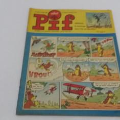 VAILLANT*LE JOURNAL DE PIF*NR. 1202*1968/REVISTĂ BENZI DESENATE