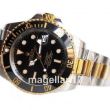 Submariner Automatic Silver and Gold ! ! ! Calitate Premium ! - Ceas barbatesc, Lux - sport, Mecanic-Automatic, Inox, Otel, Data