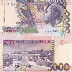 Sao Tome si Principe 5 000 Dobras 22.10.1996 UNC