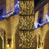 Perdea Luminoasa Maxi Imperiala,10 metri,Ghirlande Luminoase,Instalatii Craciun