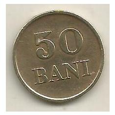 ROMANIA 50 BANI 1947 [2] XF+, livrare in cartonas - Moneda Romania, Cupru-Nichel