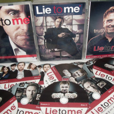Lie to Me 2009 2011 -Psihologia minciunii 3 sezoane DVD, Crima, Romana