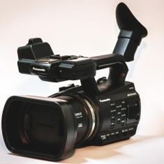 Camera video Panasonic AG-AC90A + Microfon Azden SGM-PDII Short Shotgun