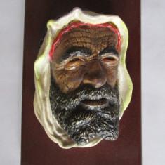 APLICA-CAP DE ARAB- ceramica, pictata - Arta Ceramica