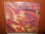 -Y-  PAUL McCARTNEY -  FLOWERS IN THE DIRT   DISC VINIL LP