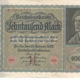 Germania 10000 marci 1922