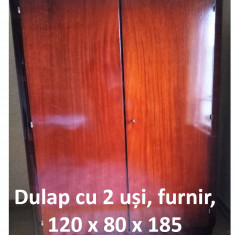 Dulap cu 2 uși, furnir - Dulap hol