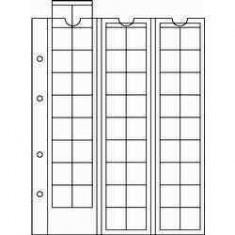 SET (5 buc) Folii Folie NUMIS 17- pt 48 monede Ǿ 17 mm 193 x 224 mm Leuchtturm