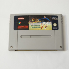 Joc consola Super Nintendo SNES - Eric Cantona Football Challenge, Actiune, Toate varstele, Single player
