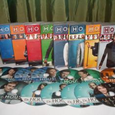House M.D. 2004–2012 8 sezoane  DVD, Drama, Romana
