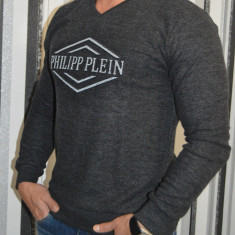 Pulover Philipp Plein pentru barbati / pulovere PP model 2017 - Pulover barbati Guess by Marciano, Marime: S, M, L, XL, XXL, Culoare: Din imagine, Anchior, Bumbac