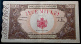 ROMANIA 10.000 10000 lei 20 12 1945 **