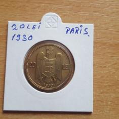 20 Lei 1930 Paris - Moneda Romania