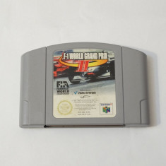 Joc consola Nintendo 64 N64 - F1 World Grand Prix II Altele, Actiune, Toate varstele, Single player