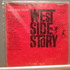 WEST SIDE STORY - L.BERNSTEIN - ORIGINAL SOUNTRACK (1960/CBS/USA) - disc VINIL, Columbia