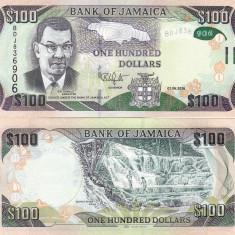Jamaica 100 Dollars 01.06.2016 UNC