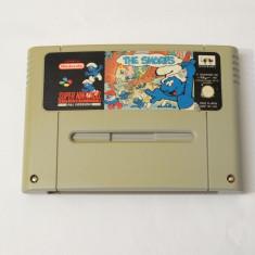 Joc consola Super Nintendo SNES - The Smurfs, Actiune, Toate varstele, Single player