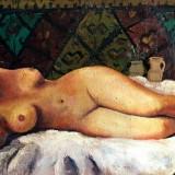 Tablou - ulei pe panza – semnat Strambulescu - Pictor roman, Nud, Altul