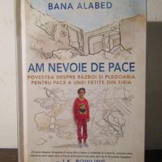 Povestea despre razboi si pledoaria pt pace a unei fetite din Siria-Bana Alabed